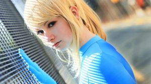 Metroid: Zero Suit Samus 5 by HayleyElise