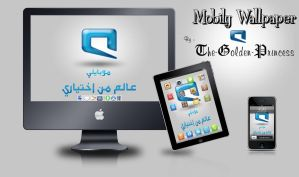 Mobily Wallpaper by The-Golden-Princess