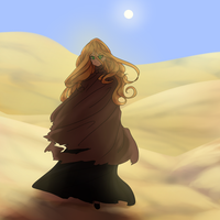The wanderer by aruva-chan