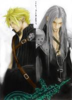 Cloud Sephiroth Coloured AC by Mickey1989