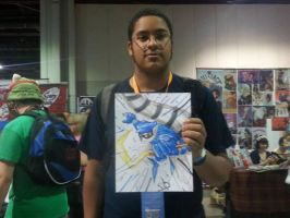Sly Cooper quick sketch commission by StamayoStudio