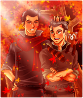 Mako and Bolin by BreakingSasuke