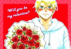 Will you be my Valentine? by gorse1995