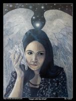 Angel with Sea Shell by melan