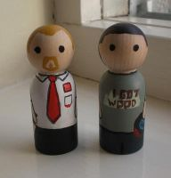 Shaun of the Dead + Ed by jen-random