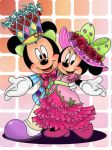 Bonnet mickey and minnie by chico-110