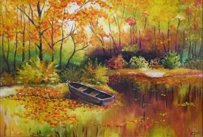 Paysage d'Automne by CF-Fantasy