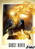 Ghost Rider: Vengeance by liquidd-1