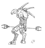 Bionicle Rahkshi by LazyDragonSlayer433