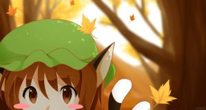 View from Above ~ Autumn by aokenshi