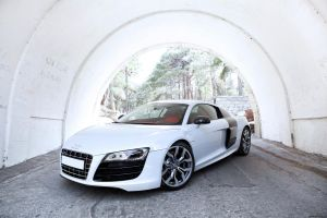 AUDI R8 white by Tagirov