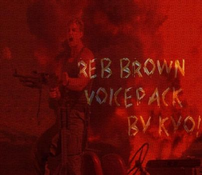Reb Brown Voicepack for Xcom2 by Kyotita