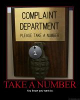 Complaint Department by crazywrench