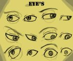 Eye's With And Without Guide by Kira09kj