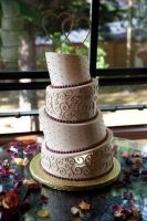 WEDDING CAKE by toastwithjam20