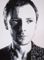 John Simm on Canvas by Mazzi294