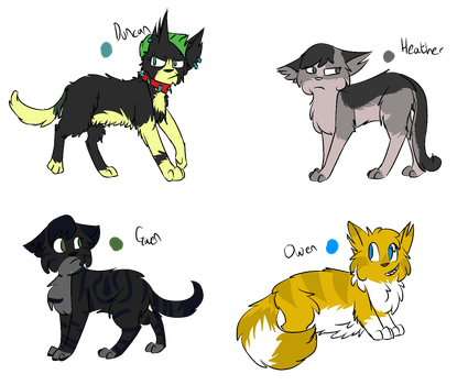 Total Drama, Characters pt 6 by Drama-kitty