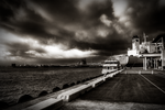 A Dark Day at the Harbor by AuiA