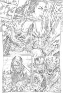Worlds of Dungeons and Dragons #5, page 2 pencils by JSA