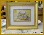 Tea Cup Watercolor Framed by HouseofChabrier