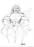 Powergirl 021109 by JeanSinclairArts