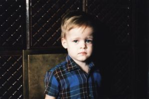 The youngest brother, Justin by lidianoona