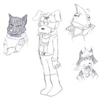 Other Star Fox Characters by DairyKing
