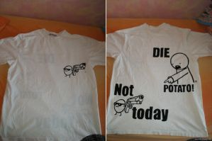 die potato - asdfmovie t-shirt by Mameha87