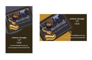 Smoothsville Business cards by bigvallysgirl