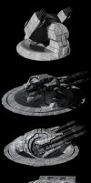 Centauri Battleship Components by Reactor-Axe-Man