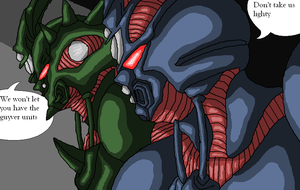 Guyver 8 and Guyver 6 by Angel434
