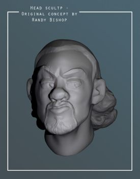 Zbrush sculpt - close up by Nat-the-witch