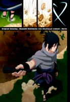 Sasuke Enters The Battlefield by HikaHitmanR