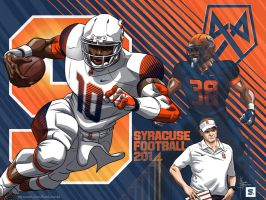 Syracuse Football 2014 by MBorkowski