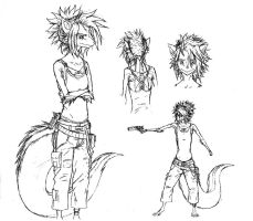 Mareth - Concept Doodles by Faullyn