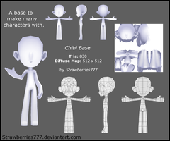 3D Chibi Base by Crysenley