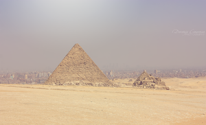 Egyptian Pyramids: Pyramid of Menkaure by DorotejaC