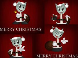 Fella Xmas Wallpaper Pk by Almoace