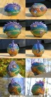 Egg of a Water Dragon by redtailhawker