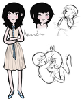 Ananda Swanther bby 2 by Asktheswanprincess