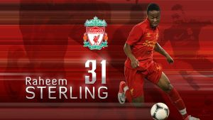 Raheem Sterling Wallpaper background by kitster29