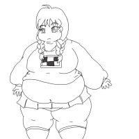 Madotsuki fat girl type by Zang-Diddy