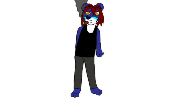 Lea The Lion sketch full body  by CrazyMates2300