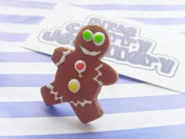 Gingerbread Man Ring 1 by tyney123