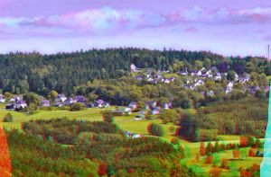 Hahnenhaeuser ::: Anaglyph 3D by zour