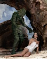 Creature From the Black Lagoon by Cspringer