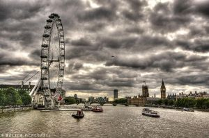 London Eye by colpewole