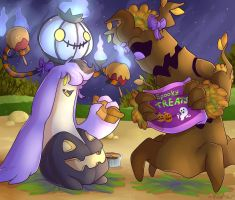 Spoopy Feast by GreenDorito