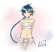 Aladdin from Magi ~the labyrinth of magic~ by NoNoKoHime