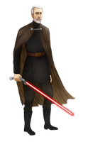 Count Dooku by Hed-ush